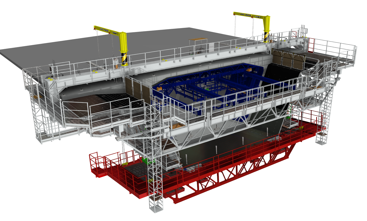 ERSEM - Equipage pont routier Maquette 3D